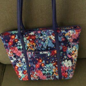 Vera Bradley small leather trimmed purse